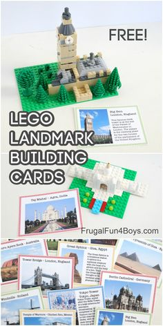 Geography Activities, Lego Activities, Lego London, Lego Craft, Minecraft Crafts, Lego Challenge, Lego Club, Free Lego, Lego For Kids