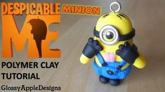 How I make my mini minion charms out of polymer clay. I use metal eyelets for the eyes. You can get them in different sizes so it's up to you what size you u...