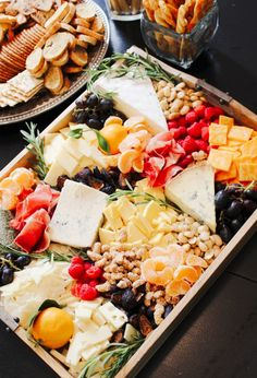 The Most Epic Cheese Plates & How to Re-Create Them - Don't shy away from…