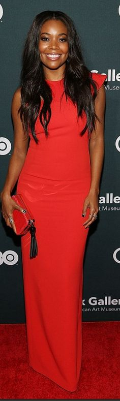 Gabrielle Union wearing Osman and Kate Spade