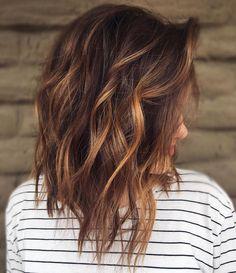 15 Yummiest Caramel Brown Hair Color Ideas Source by Balayage Color Castaño, Brown Hair Balayage, Brown Hair With Highlights, Color Highlights, Blonde Hair, Chunky Highlights, Blonde Highlights, Caramel Brown Hair Color, Chocolate Brown Hair Color