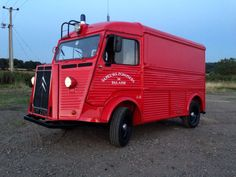 The Little Red Fire Engine Classic HY Citroen camper van www.facebook.com/thelittleredfireengine