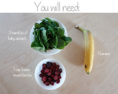 Not so Green Smoothie  #health #smoothie #DIY #Food