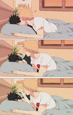 naruto : i love you... sasuke : love you too... naruto : hehehehe