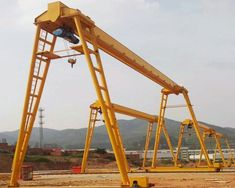 Are you looking for single girder gantry crane with high quality and reliable operating performance? If so, contact us now to get the best crane solution. Cranes For Sale, Gantry Crane, Heavy Equipment, Business, Architecture, Framing Construction, Crane Car, Model Building, Store