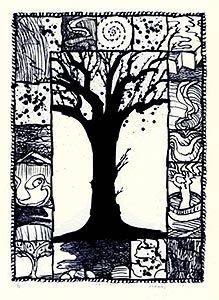 lithographie originale d'Alechinsky