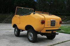 Land Frankreich Typ Ferves Ranger Halter Farbe Gelb Aufgenommen 02.11.2010 Baujahr 1968