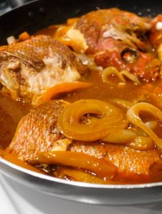 BROWN STEW FISH (fish and gravy) recipe gateway: this post's link + http://www.foodnetwork.com/recipes/brown-stew-fish-recipe.html + http://www.sweetjamaica.co.uk/jamaican-brown-stew-fish-recipe/ + http://cooklikeajamaican.com/jamaican-brown-stew-fish-recipe/ + http://jamaicandinners.com/jamaican-food/dinners/brown-stewed-fish-recipe.html + http://fish-recipes.wonderhowto.com/how-to/cook-jamaican-brown-stew-fish-259238/ [Jamaica] [eatmorefoodproject]