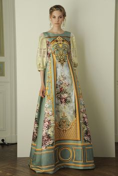 From Alberta Ferretti's limited-edition Spring 2016 evening collection