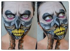 MakeUp: Immortan Joe - Mad Max by JessieOctober.deviantart.com on @DeviantArt