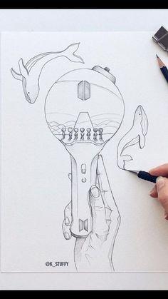 Kpop Drawings, Art Drawings Sketches Simple, Pencil Art Drawings, Bts Wallpaper Lyrics, Bts Book, Bts Chibi, Bts Pictures, Doodle Art, Fan Art