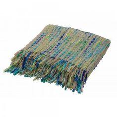 Blues Tahla Knit Throw