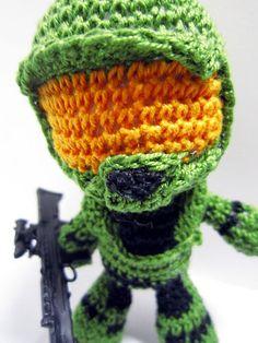 Crochet Master Chief