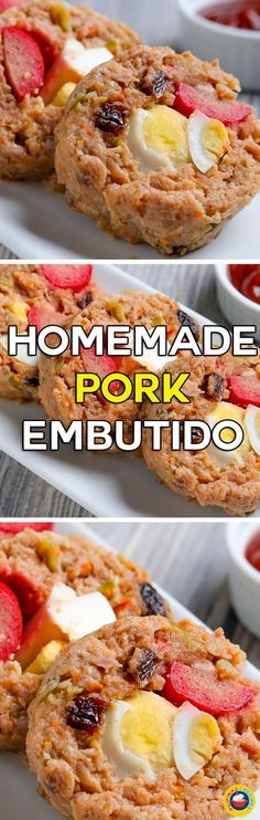 Pork Embutido is enjoyed by many households throughout the Philippines. This sweet and salty dish is either processed and canned which you can buy at most markets and groceries or homemade by housewives, home entrepreneur, and foodies.