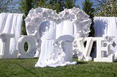 Скоро день вашей свадьбы? Свадебная арка своими руками!