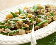 Orecchiette with Shiitake Mushrooms Recipe #pasta #vegetarian #dinner