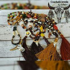 Sautoirs ...necklace  boho...Worldwide Shipping www.coachelli.com