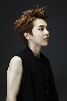 """EXO's official Music Video """"Wolf"""" portrait photoshoot of Xiumin"""