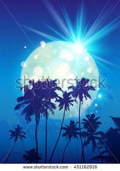 Illustrazioni e vignette d'archivio di Tropical Sky | Shutterstock