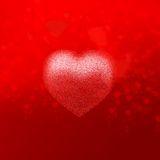 valentine´s del corazón Imagen de archivo