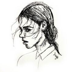 G l a r e . . . . . . . . . . . . . . . #art #artoftheday #instaart #instaartist #instadraw #pretty #instadoodle #instasketch #artstagram #artist #inked #artistoninstagram #doodle #sketch #illustration #artwork #sketchbook #sketchoftheday  #doodleoftheday #inkdrawing #ballpointpen #pilotpen #messy #beautiful #girl #lady #woman