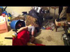 Idiot Discovers The Ceiling Fan - FAIL - #fail #stupid #stunt