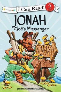 Jonah, God's Messenger: Biblical Values (I Can Read! / Dennis Jones Series) by Dennis Jones
