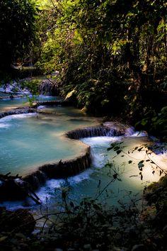 Safari hike finding beatiful waterfalls