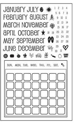 3140c61ef52f9 10 Best stamps images in 2017 | Stamp, Clear stamps, Planner doodles