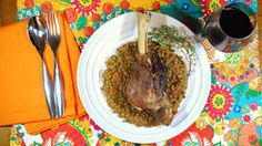8 & $20: Braised Lamb Shanks and Lentil Stew Recipe   Matchmaking   News & Features   Wine Spectator
