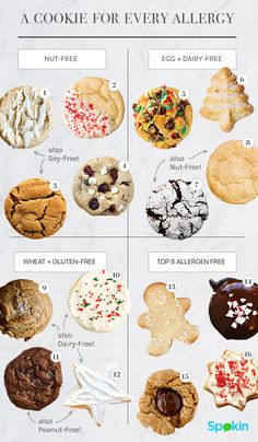 """Flour, eggs and milk are essential ingredients for baking cookies but that  can present a challenge for food allergic cookie monsters.No matter your  allergy, and especially if you have """"multiples,"""" it's time to meet your  match."""