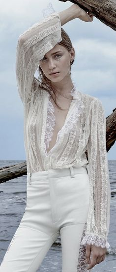 Sofia Tesmenitskaya by Greg Lotus for Vogue Russia October 2015