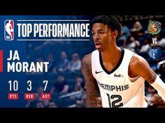 Ja Morant Shines in First NBA Preseason Game | October 6, 2019 - YouTube Nba League Pass, Basketball Leagues, Memphis Grizzlies, Highlights, October, Games, Youtube, Luminizer, Gaming