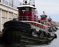 Tugboats in Baltimore Harbor | File:3 Tugboats.jpg - Wikimedia Commons /#tugboats #baltimore #tugs