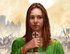 """Check out new work on my @Behance portfolio: """"The Templar's Daughter"""" http://be.net/gallery/62939673/The-Templars-Daughter"""