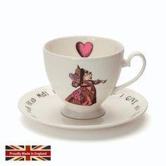 - イギリス雑貨と紅茶とハーブティーのお店 English Specialities ミセスムーア 不思議の国のアリス レッドクイーン カップ&ソーサー