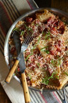 3. Easy One Skillet Lasagna
