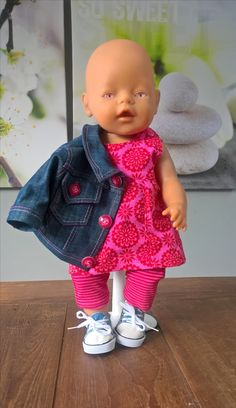 Wollyonline sells digital doll patterns for a variety of dolls. There is also a large selection of FREE patterns available. Sewing Doll Clothes, Baby Doll Clothes, Sewing Dolls, Doll Clothes Patterns, Doll Patterns, Clothing Patterns, Toddler Dolls, Baby Dolls, Premature Baby