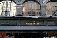 La table - A Cantina - Bordeaux