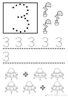 mattepyssel, skriva siffror, matte, matematik, matte för de yngsta, lektionstips Cool Kids, Stencil, Education, Fun, 1 Decembrie, Matte, School, Teaching Ideas, Numbers