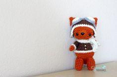 Aviator Fox free crochet pattern - 10 Free Crochet Fox Patterns