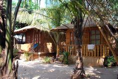 Tantra Cafe and Huts 170kr/natt Patnem beach