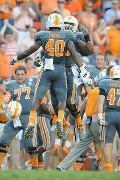 Tennessee Vols 2013 Smokey Grey Uniforms!!