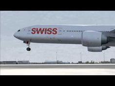 1st SWISS Boeing 777-300ER HB-JNA Fully Painted Test Flight Return @ KPAE Paine Field - YouTube