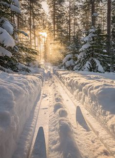 Winter Love, Winter Is Coming, Landscape Photos, Beautiful Sky, Beautiful Places, Winter's Tale, Winter Scenery, Winter Beauty, Snow