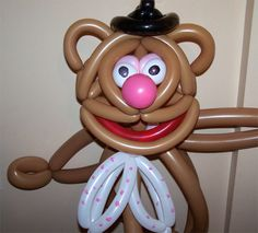Muppet Balloon Animals