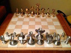 шахматы, своими руками, прикол,