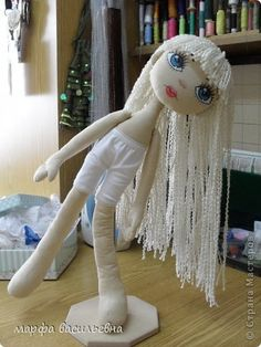 TEXTILE DOLLS FROM MARTHA V.. MASTER CLASS - view 3