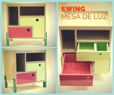 Mesa de luz Swing (de Sibonia)