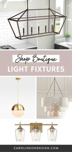 Need help finding the right light fixtures for your new home or remodel? I've created a selection of my favorite light fixtures for you to choose from all in one spot! Interior Decorating Tips, Interior Design Tips, Decorating Your Home, House Design Photos, Cool House Designs, Home Building Tips, Building A House, Bathroom Sconces, Wall Sconces